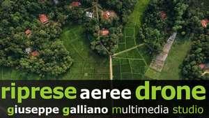 video droni riprese aeree prodotti Galliano Studio